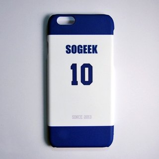 SO GEEK phone shell design brand THE JERSEY GEEK jersey back number Customized paragraph 005