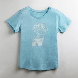Cotton handmade fashion T-shirt female models (family) - childlike to travel with the house