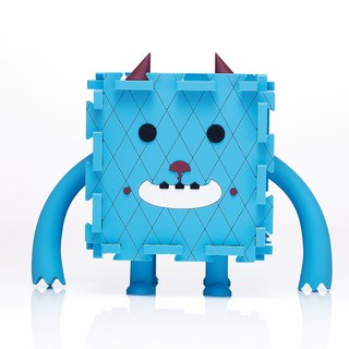 Monster Box (Blue) - Piggy Bank and Storage Case