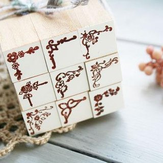 Corner Petit stamp set
