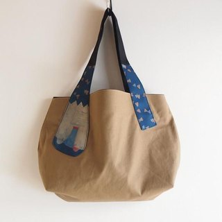 Tokusa bear's possession Tote No. 003 Reversible [Make-to-order production]