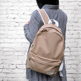 Pure ‧ Treading - Canvas Backpack - Plain Backpack (God Skin Color)