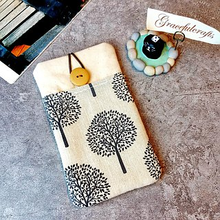 iPhone sleeve, iPhone pouch, Samsung Galaxy S8, Galaxy Note 8, cell phone, ipod classic touch sleeve (P-103)