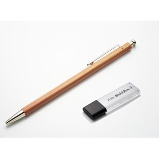 Japan North Star adults cartridge attached clip-cut pencil (wood pen)