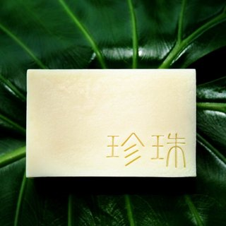 "【Manga soap】 pearl soap - pearl powder / Han Jurong recipe / handmade soap / hand soap / handmade soap ""repo rate first"" / wash / wash / cleansing / bathing / bathing / moisturizing / oil control"