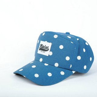 Limited naive cap - blue Big dot models