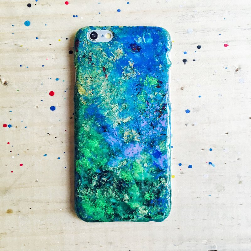 Undefined ll hand-painted oil painting phone case