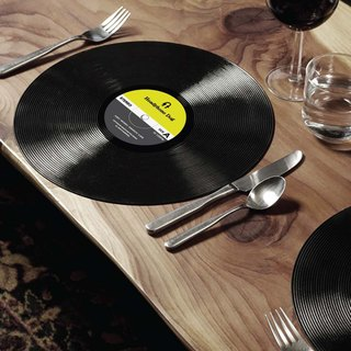 Vinyl Record Table mat / Placemats  (2pc)