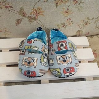 Retro camera baby learning shoes (12cm)