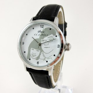 Customized simple large surface watch (B004G-1 / B004L-1)