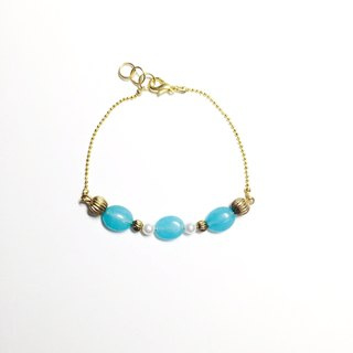 * The Little Mermaid fresh blue jade bracelet arc