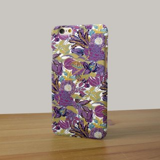 Purple flower 94 3D Full Wrap Phone Case, available for  iPhone 7, iPhone 7 Plus, iPhone 6s, iPhone 6s Plus, iPhone 5/5s, iPhone 5c, iPhone 4/4s, Samsung Galaxy S7, S7 Edge, S6 Edge Plus, S6, S6 Edge, S5 S4 S3  Samsung Galaxy Note 5, Note 4, Note 3,  Note