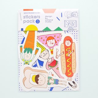 Food / Medium Sticker Set 2-5