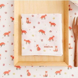 ARDIUM cotton handkerchief - red fox