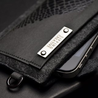 iPhone 5SE Sleeve_Crocodile