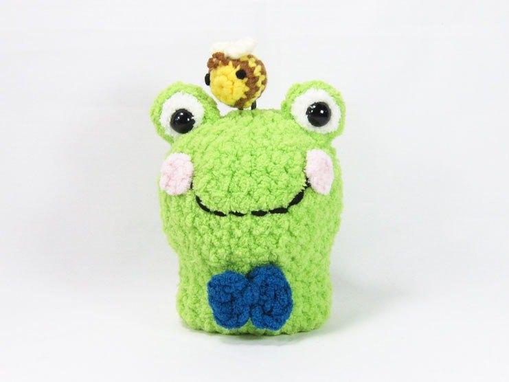 青蛙-鑰匙包-鑰匙套