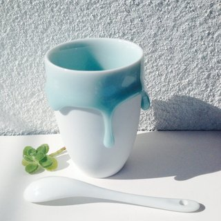 Midsummer Gifts Blessing Series - Baby Blue in Melting - Ceramic Coffee Mug - 200ml S