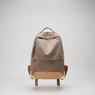 Bodhi said FOSTYLE water-proof crescent backpack travel backpack leisure computer bag bag khaki
