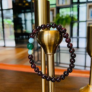 "Suddenly ""bracelet series"" Garnet - positive energy"