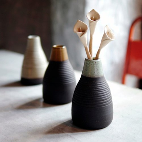 Diffuser - Pottery - Peng Peng skirt - calla lilies spread incense pots -Pettiskirt aroma Vase - Calla lily- hand dance for