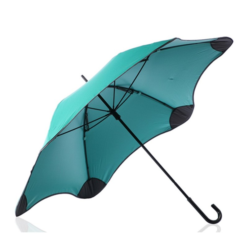 [BLUNT Paul Lent] LITE 3 + anti-strong wind completely anti-UV beauty hook hook umbrella - Tiffany green
