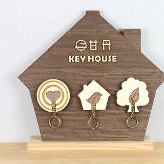 KEY HOUSE Series 3 in 1 <Customizable Storage Decoration Gift >