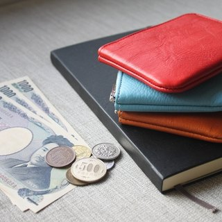 革職人 LEATHER FACTORY【Refine L-Zip Coin Case / Wallet / Purse】Made in Japan