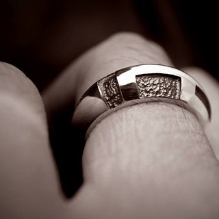 【卍 word series - 卍 word ring sterling silver ring】 (925 sterling silver / neutral models / both men and women can be tail or ring)