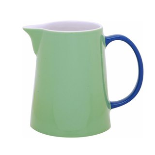 Jansen + co color tone pot - green + blue