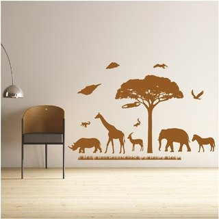 """Smart Design"" creative wall stickers ◆ Seamless animal friends 8 color options"