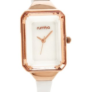 {Rumba Time} New York fashionable watch brand Union Gem - Crystal Gold