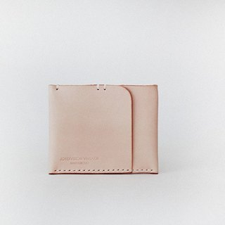 joydivision vintage purse One card bit minimalist designer colors handmade leather wallet card package