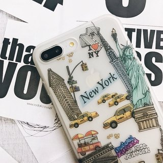 iPhone Case / Soft Shell / New York / Gift