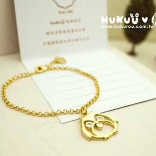 "§ HUKUROU§ jewelry ‧ groceries § ""Owl Guardian"" bracelet (hanging section) -3 color"