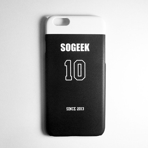 SO GEEK phone shell design brand THE JERSEY GEEK jersey back number Customized paragraph 045