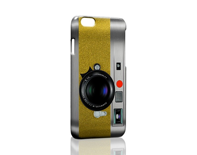 Gold nostalgic camera custom Samsung S5 S6 S7 note4 note5 iPhone 5 5s 6 6s 6 plus 7 7 plus ASUS HTC m9 Sony LG g4 g5 v10 phone shell mobile phone sets phone shell phonecase