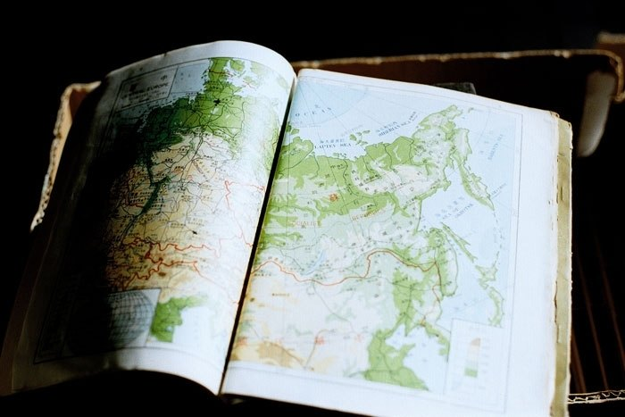 攝影 萬用 明信片 - Light系列 - 世界地圖