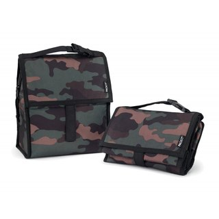 United States [PACKiT] ice cool multi-function freezer (fashion camouflage) cold bag / breast milk bag