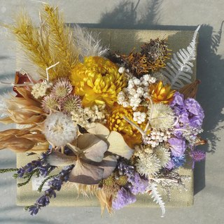 Dried flower paintings dream experiment _ _ Customized Service