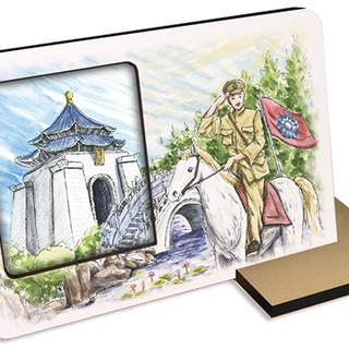 Taiwan's top ten tourist attractions ~ Chiang Kai-shek Memorial Hall ~ 30 seconds audible and photographic photo frames photo attractions gift cards postcard