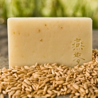 Wenshan Handmade Soap - Oatmeal Soothing Soap (Handmade Soap for Bath)