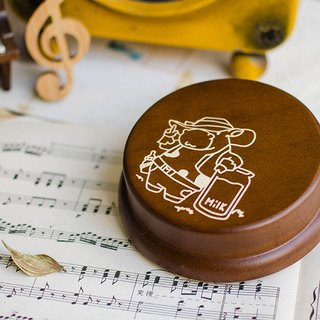 【Birthday Gifts, Memorial Gifts, Christmas Gifts】 Zodiac Oxford Customized // Music Box