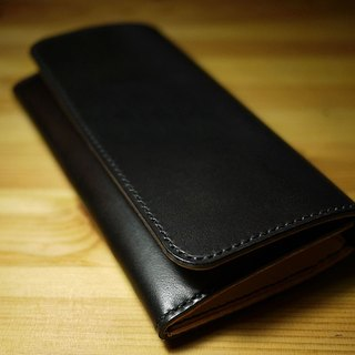 小島手工長皮夾 LEATHER LONG WALLET
