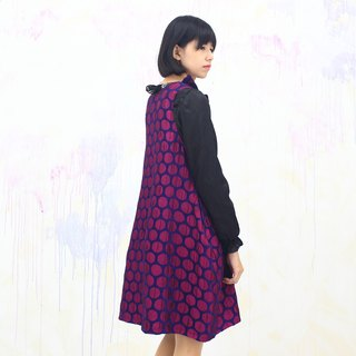 purple/ pocket dress / pop style/ purple  dress / winter