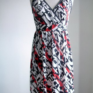 Digital pop style dress