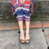 ☆big day☆ 關於人生中的大日子系列 #942 ||霧金||復古高跟婚鞋