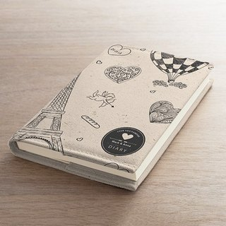 [Valentine's Day] Around the World in cloth book notebook AT2-VLTM1 clothing
