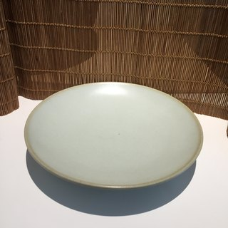 Lin Jianhong's hand-made white glaze sheet kettle