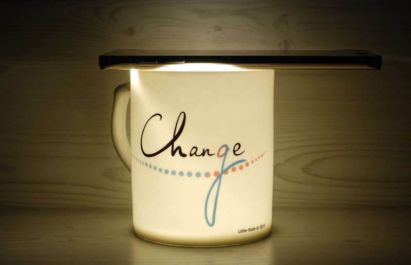 [Bone china mug] Change & Chance (customized)