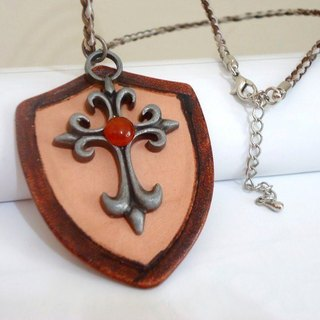 Knight shield necklace II